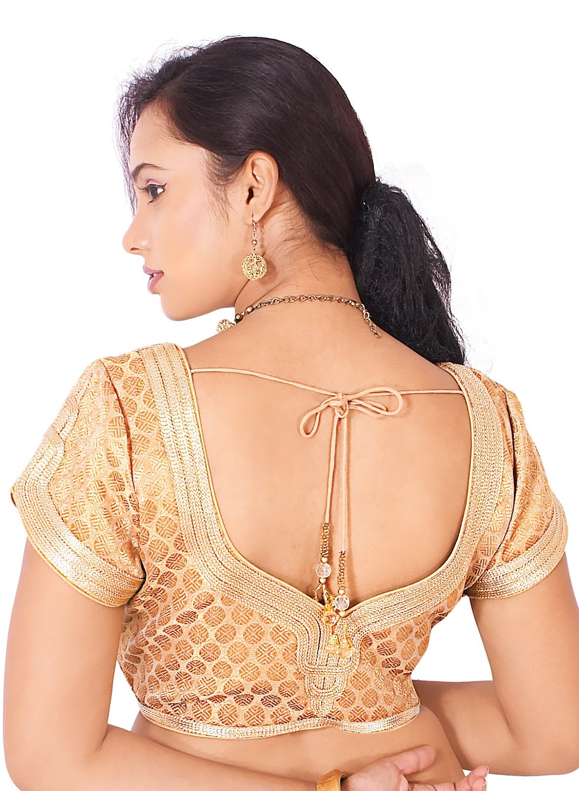 Fashion designing blouse models 96