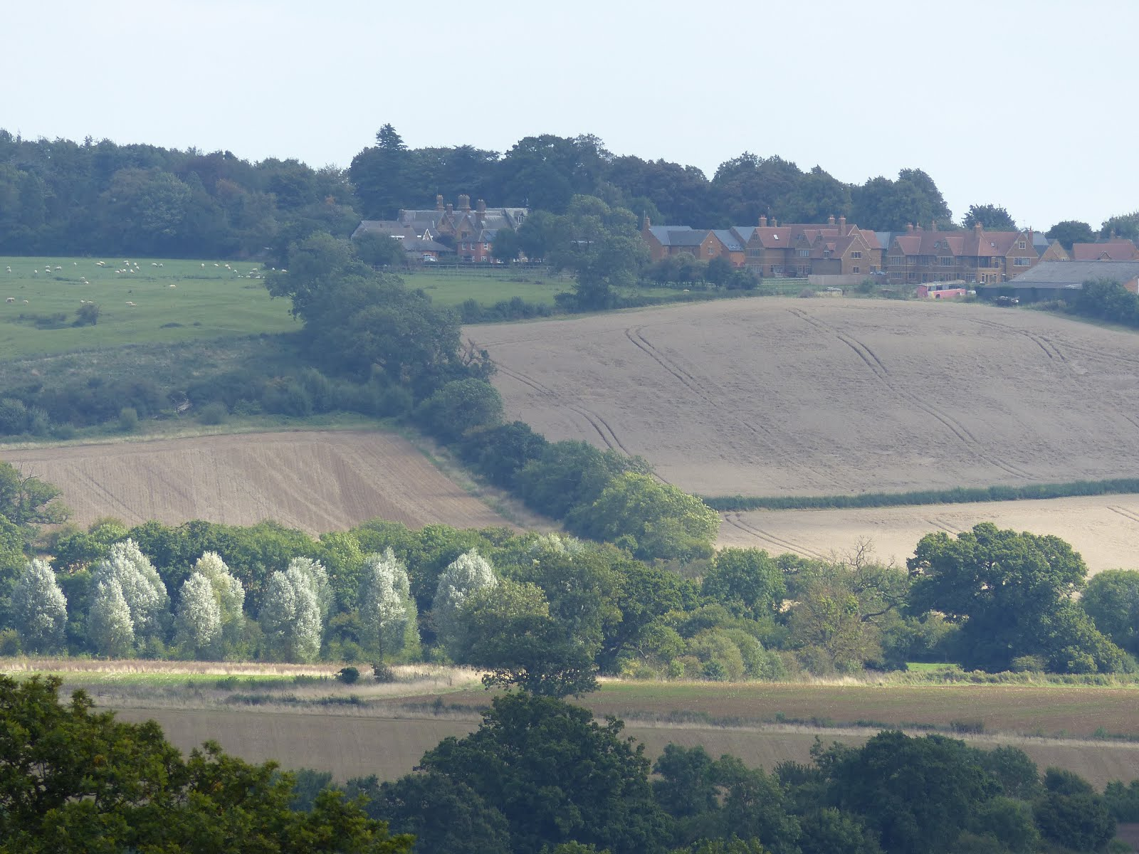 Brampton Valley below Lamport