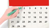 calendario de ocupación