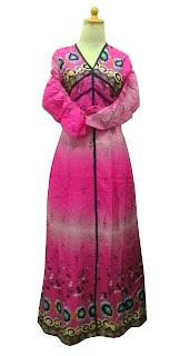 GPL-02 Gamis Thailand Cantik Pink Allsize
