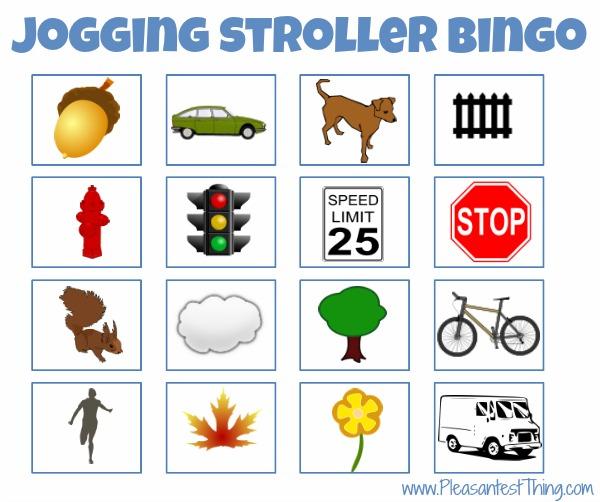Jogging stroller game