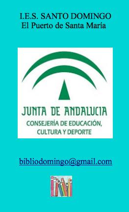 Bienvenidos al blog de la biblioteca del IES Santo Domingo