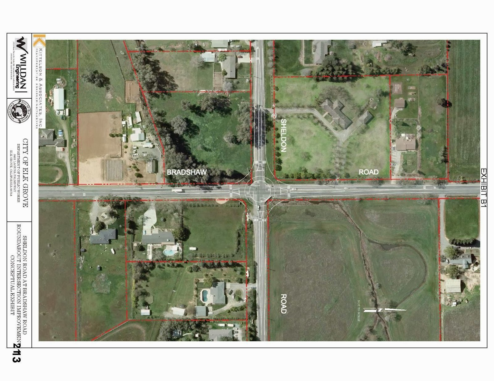 Elk Grove City Council To Discuss Rural Intersections, Roundabouts