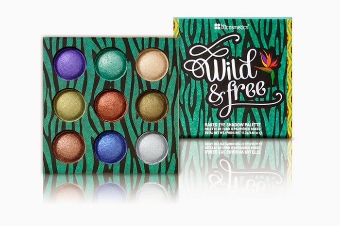 BH Cosmetics Wild & Free Baked Eyeshadow Palette