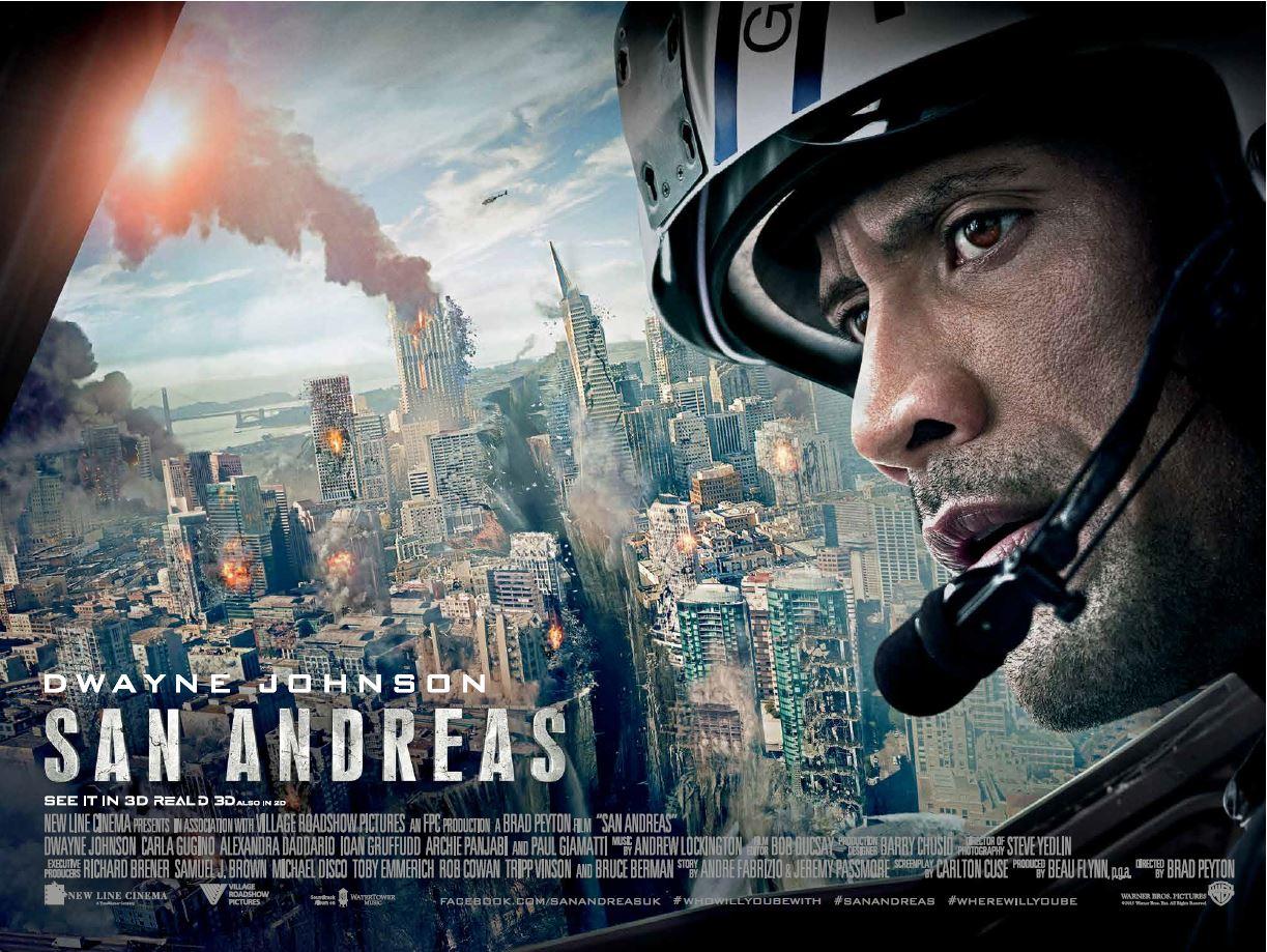 Разлом сан-андреас / san andreas (2015) bdrip 1080p | лицензия.