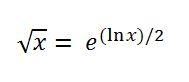 como calcular raízes quadradas manualmente