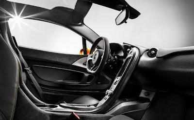 McLaren P1 Cockpit