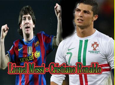 Rivalitas Lionel Messi - Cristiano Ronaldo