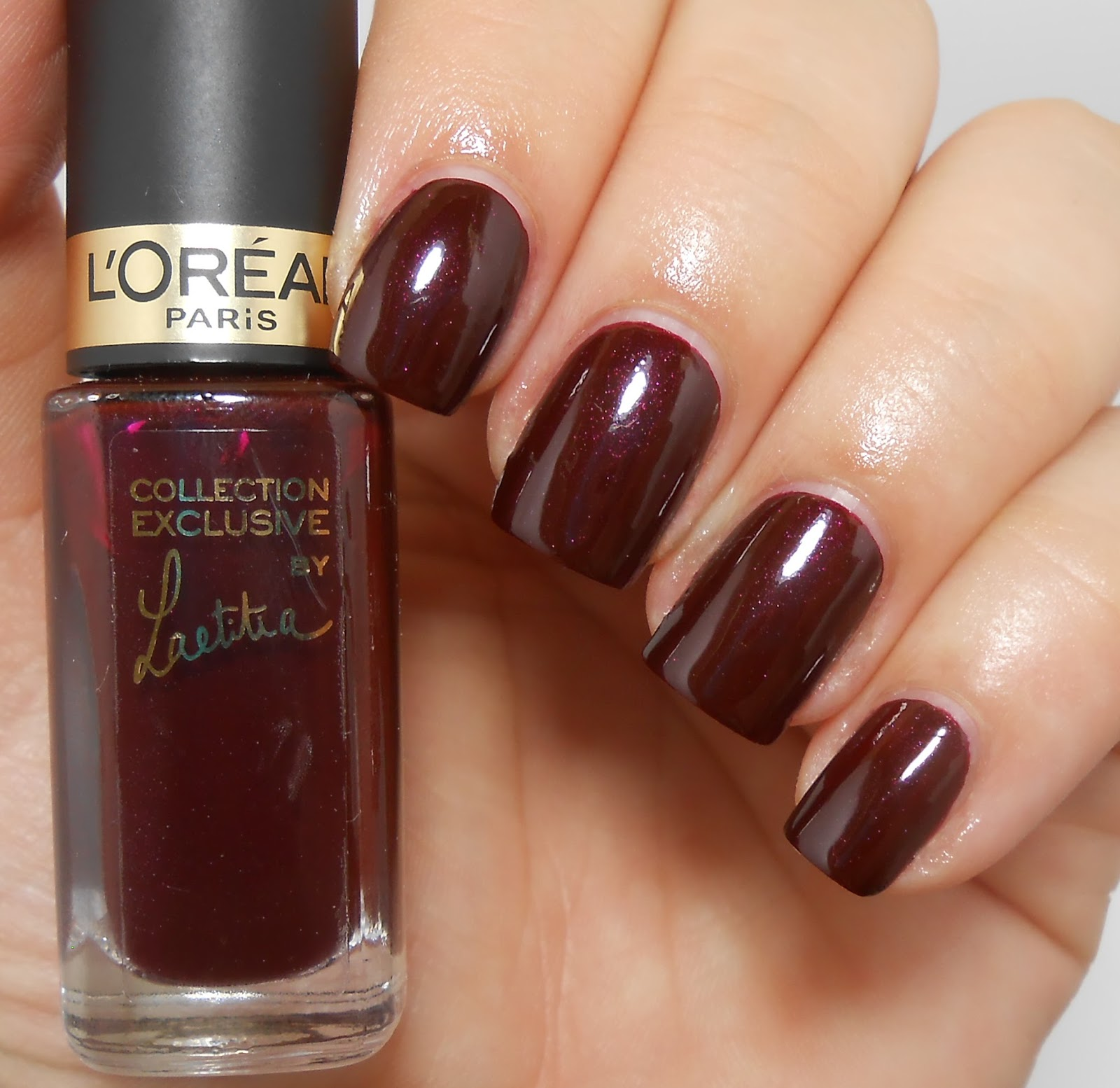 Review and Swatches: L'Oreal Laetitia and Blake Nail Polishes ...