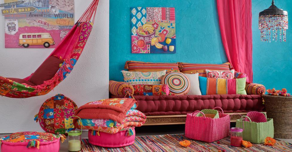 Siette interiores cojines por todos lados - Dormitorios maison du monde ...