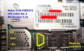Nokia 2720a Pinout