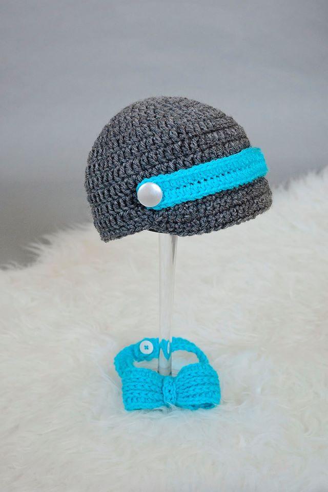 Handmade by Phanessa: Crochet Newsboy Hat Pattern