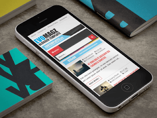 Evo Magz Blogger Template - Template Blogger Responsive, Mobile And SEO Friendly