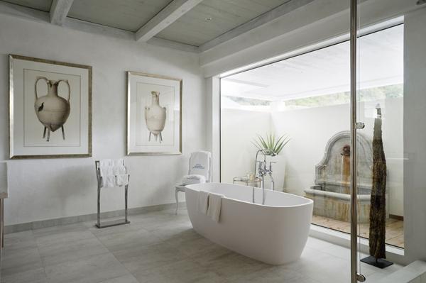 Decorar Baños Grandes:Decorar el Cuarto de Baño con Arte : Baños y Muebles