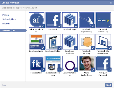facebookfever Facebook Updated An Awesome Feature   Interest Lists
