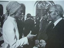 A Téhéran avec Farah Diba -1977