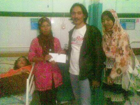 Bantuan Dari Wong Magetan Peduli Untuk Erwiana Sulistyaningsih