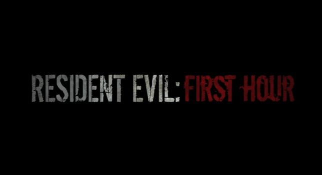 Resident Evil First Hour Titre Logo Download   Resident Evil: First Hour 1ª Temporada Completa   Legendado