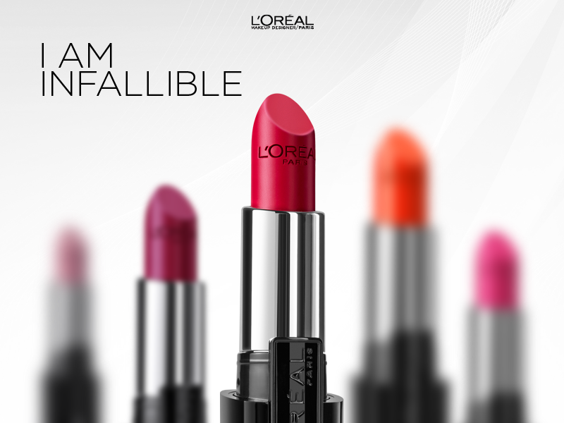 L'Oreal Paris India Presents The Infallible Range