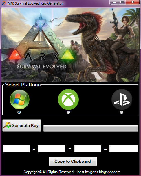 free ark survival evolved key