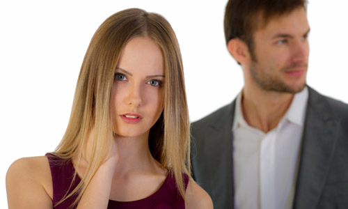 5 Signs She is About to Dump You,woman girl hate man break up