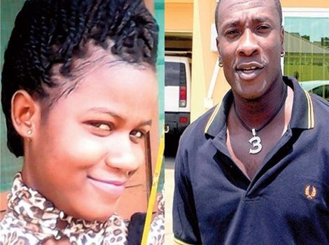 sarah kwabla and Asamoah Gyan.
