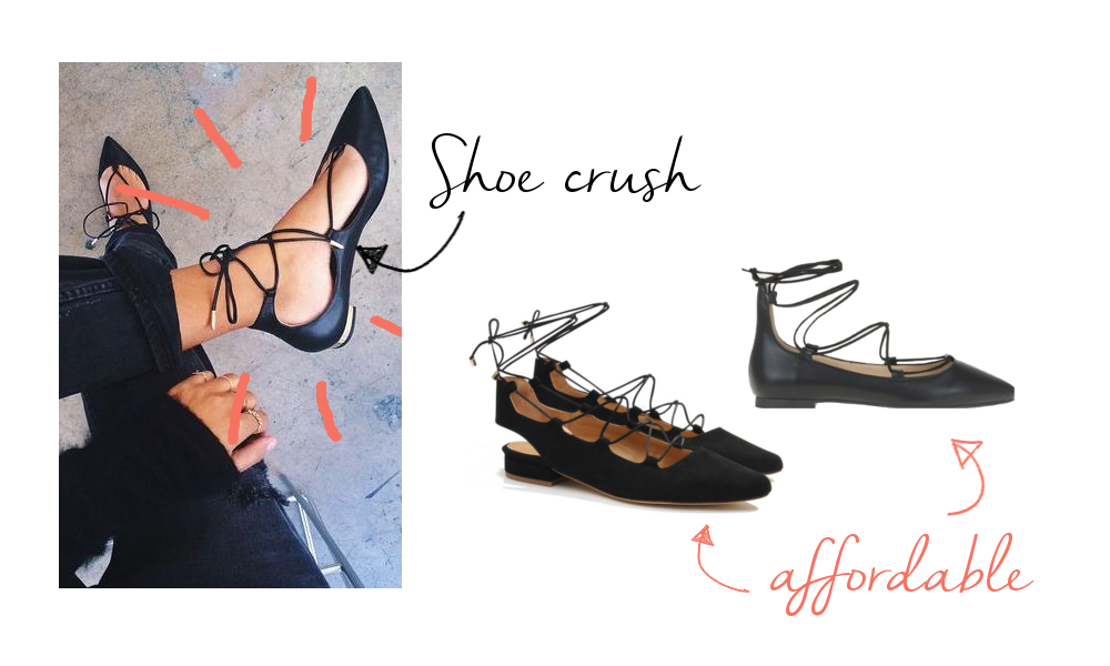 Shoe crush: Aquazzura Christy Flats