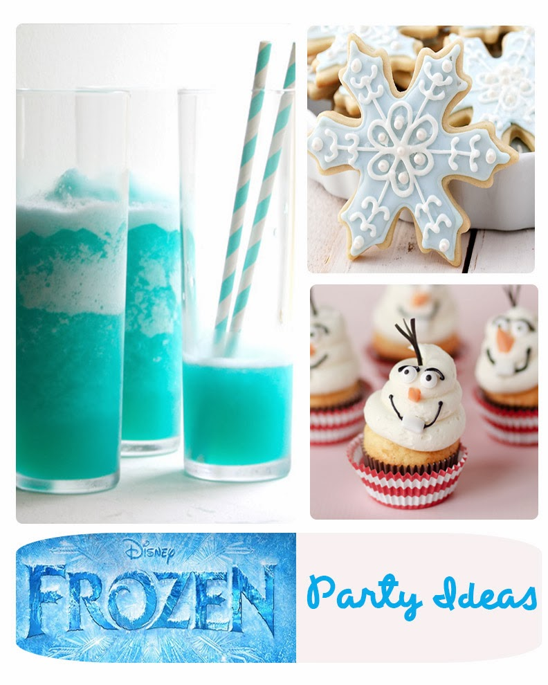 "Having a  ""Frozen"" Party? Find lots of fun things here!"