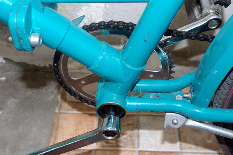 Ремонт каретки велосипеда салют своими руками 71
