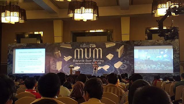 Live Streaming Mikrotik User Meeting (MUM) Indonesia 2015, Yogyakarta – Pusat Pengetahuan