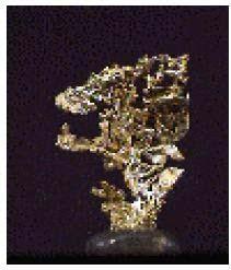 Emas memiliki sifat dalam (tenacity) yang mudah ditempa.