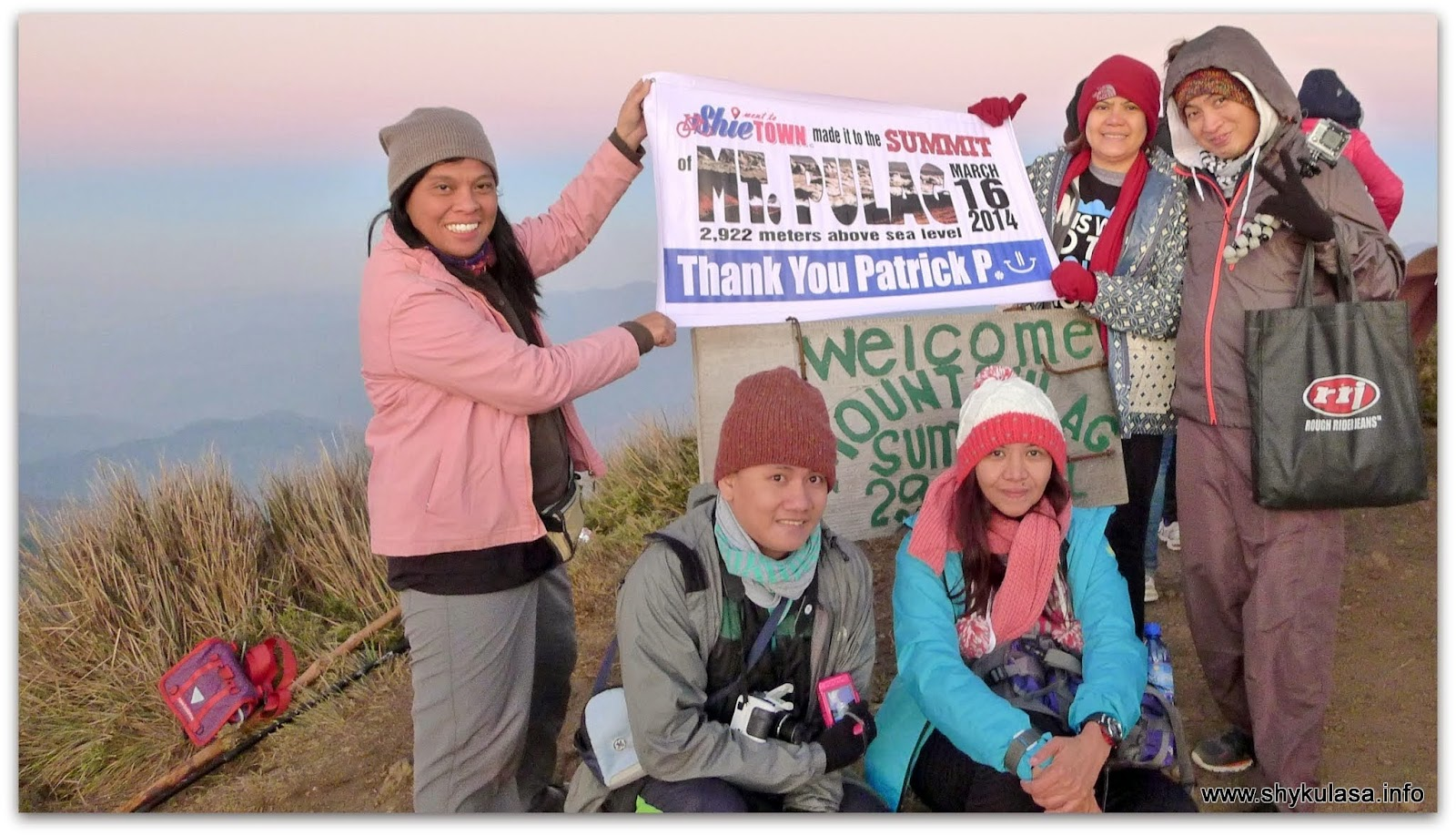 Summit, Mt Pulag