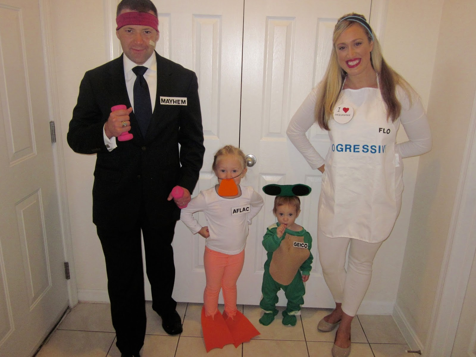 COSTUME WEEK DAY 2 Insurance Family  sc 1 st  The Art of Mediocre Parenting & The Art of Mediocre Parenting: COSTUME WEEK DAY 2: Insurance Family