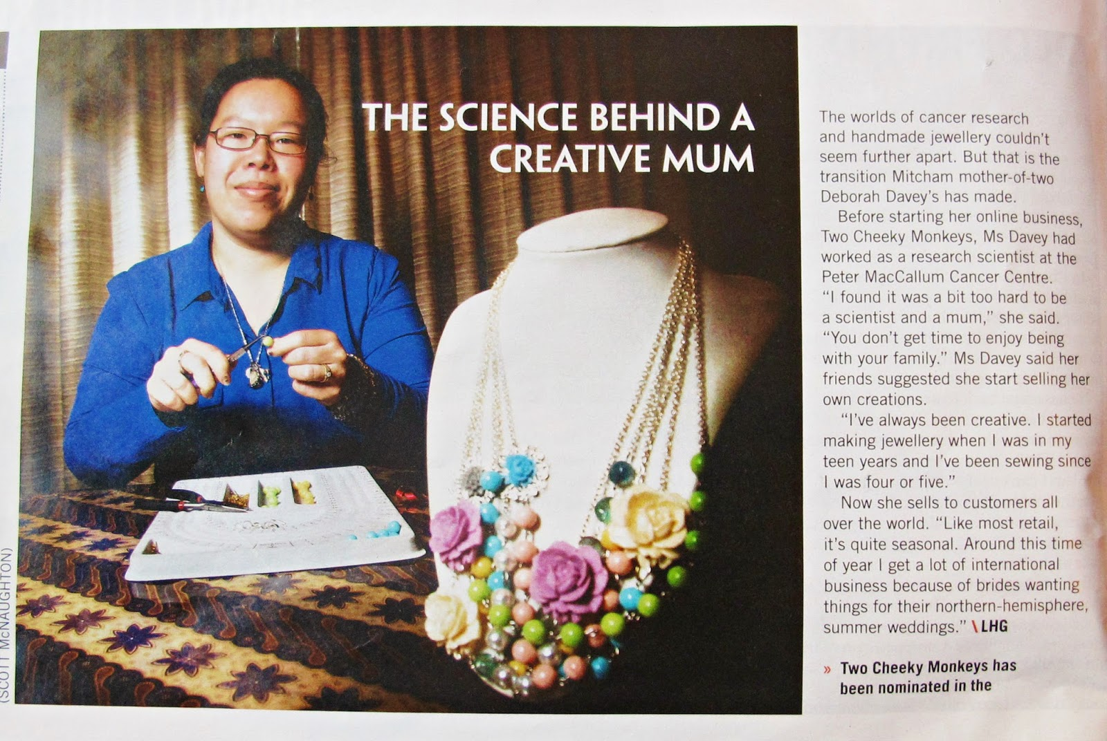 image two cheeky monkeys weekly review eastern paper magazine jewellery ausmumpreneur award