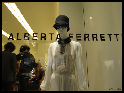 Alberta Ferretti Vogue Fashion Night Out Paris 2012