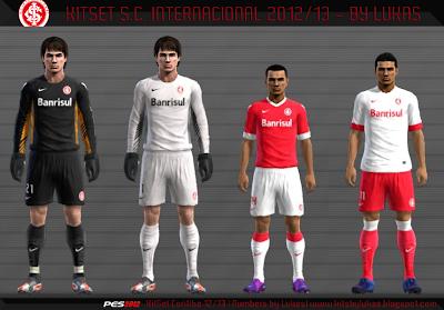 INTER PES 2012: Uniforme SC Internacional 12/13