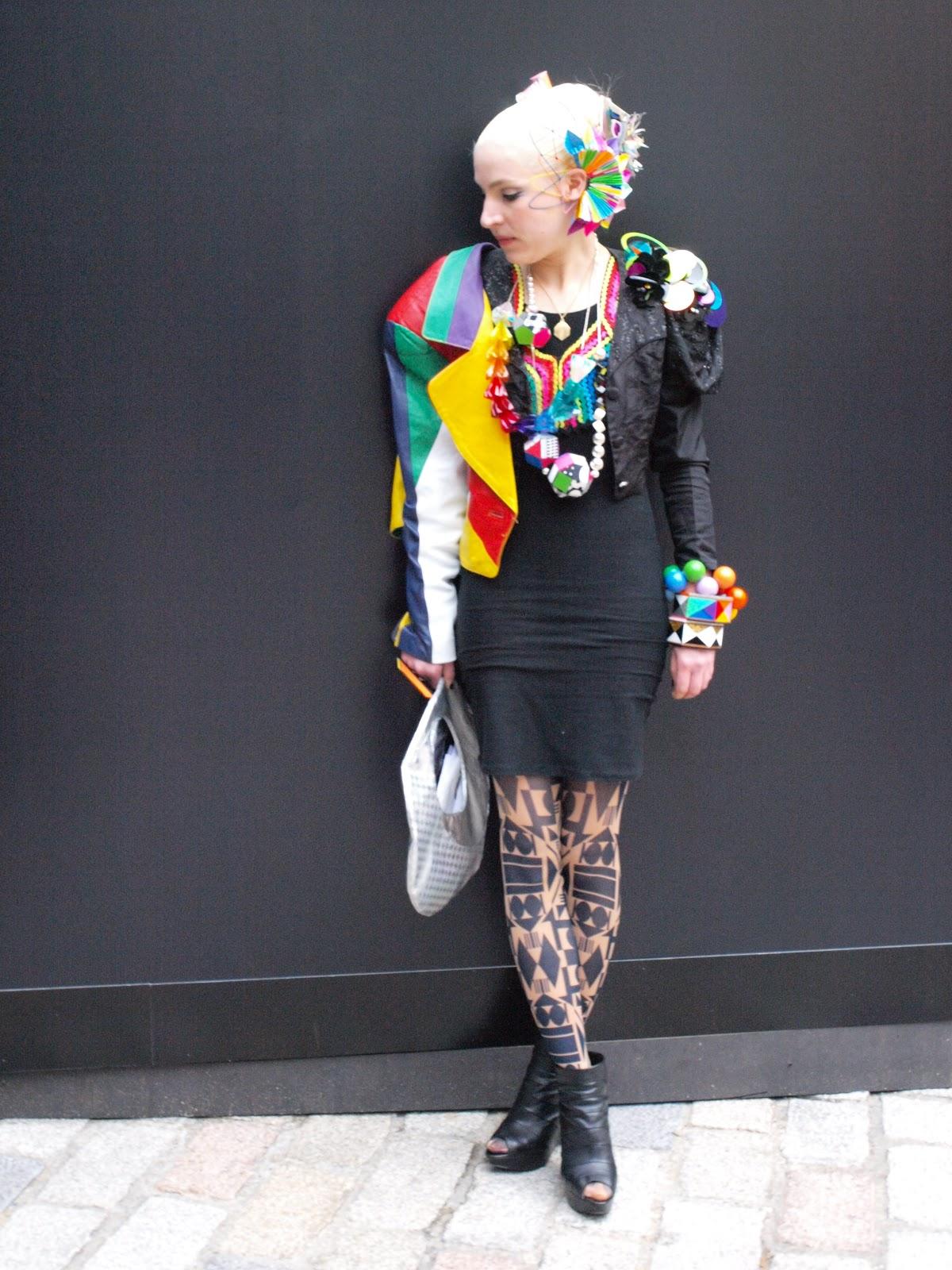Styleeast London Fashion Week Street Style Fred Butler