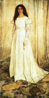 Джеймс Уистлер. Симфония в белом № 1. 1862.