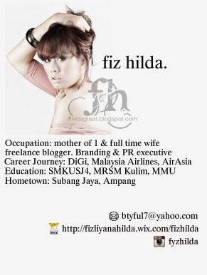 Hello, I am Fiz Hilda :)