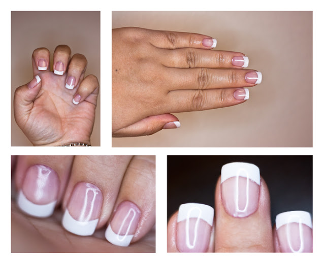 French Manicure White Tips and Gel Nails Tutorial,futilitiesandmore.blogspot.com, futilities and more, futilitiesandmore