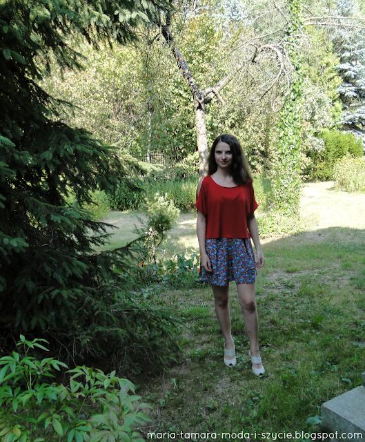letnia bluzka damska