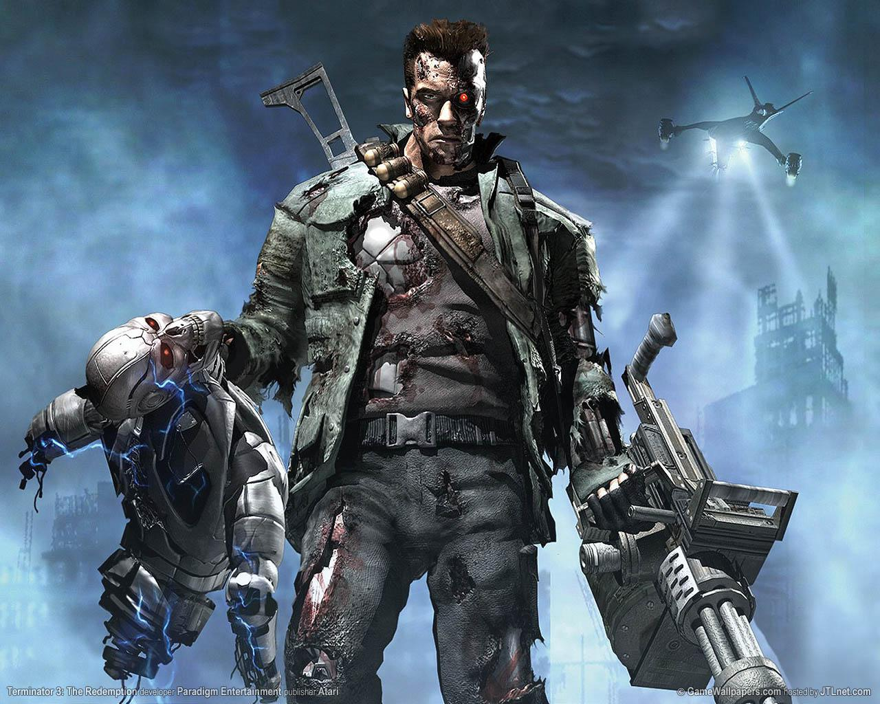 TERMINATOR SALVACION 14 JULIO CQB GEDAT Terminator+5