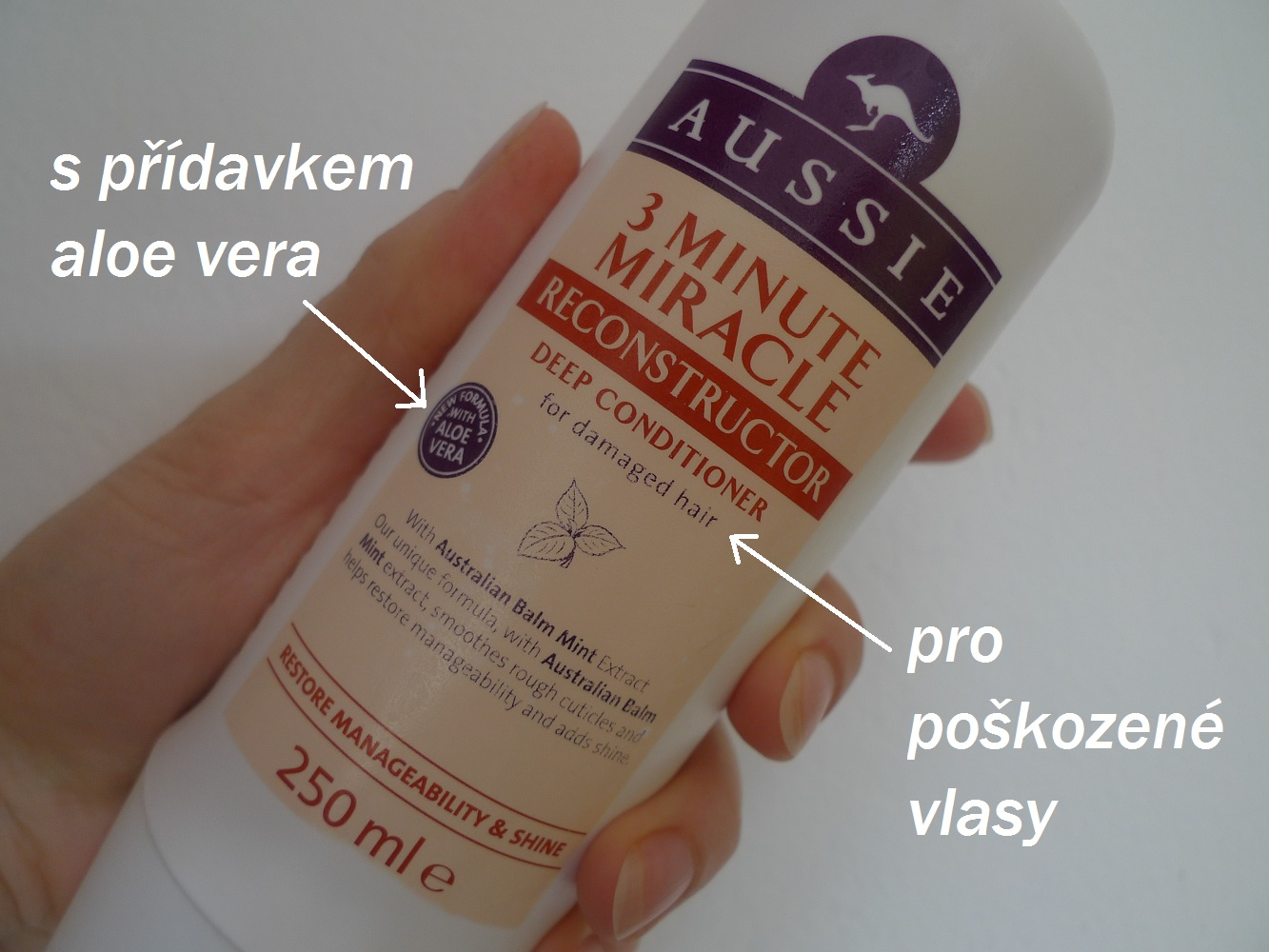 Hydratační šampon bez silikonů