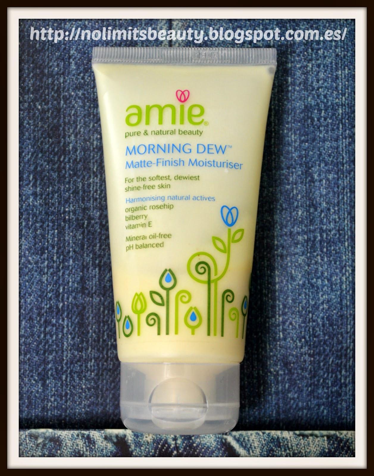 Amie Morning Dew - Matte Finish Moisturiser (review)
