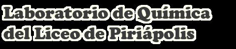Laboratorio de Química del Liceo de Piriápolis