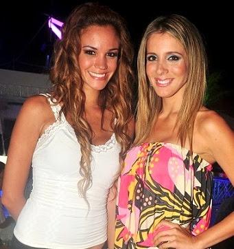 Giselle Patrón junto a Fiorella Flores