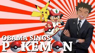 Barack Obama chante le générique de Pokémon