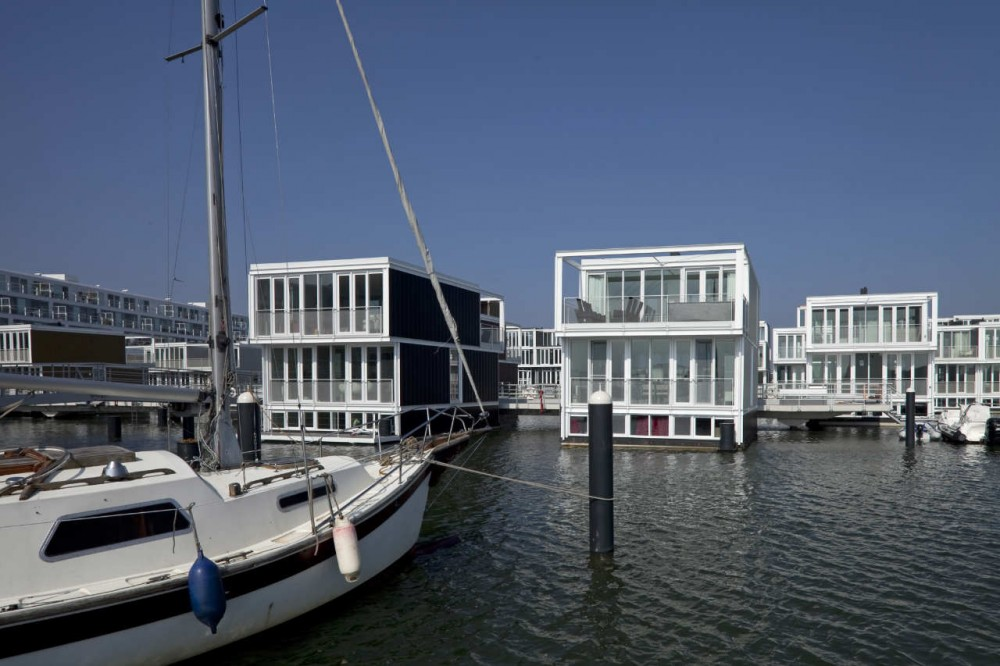 Beautiful Houses  Dutch Floating Houses District