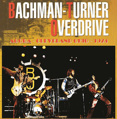 Bachman-Turner Overdrive - FM Broadcast - Agora - Cleveland Ohio - Early 1974 (Wave)