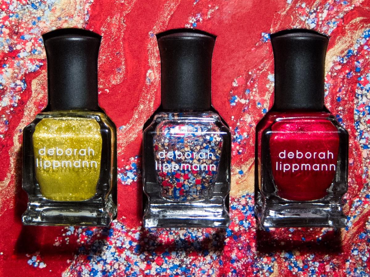 Deborah Lippmann Celebration Nail Lacquer Trio Swatches and Review ...